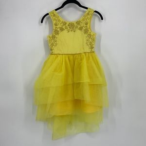 Disney Belle Beauty and the Beast Yellow Dress